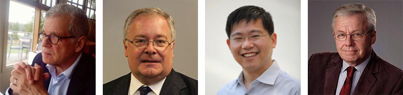 Professor Joseph Siracusa, Peter Jennings, Dr Sow Keat Tok, and Associate Professor Paul Battersby
