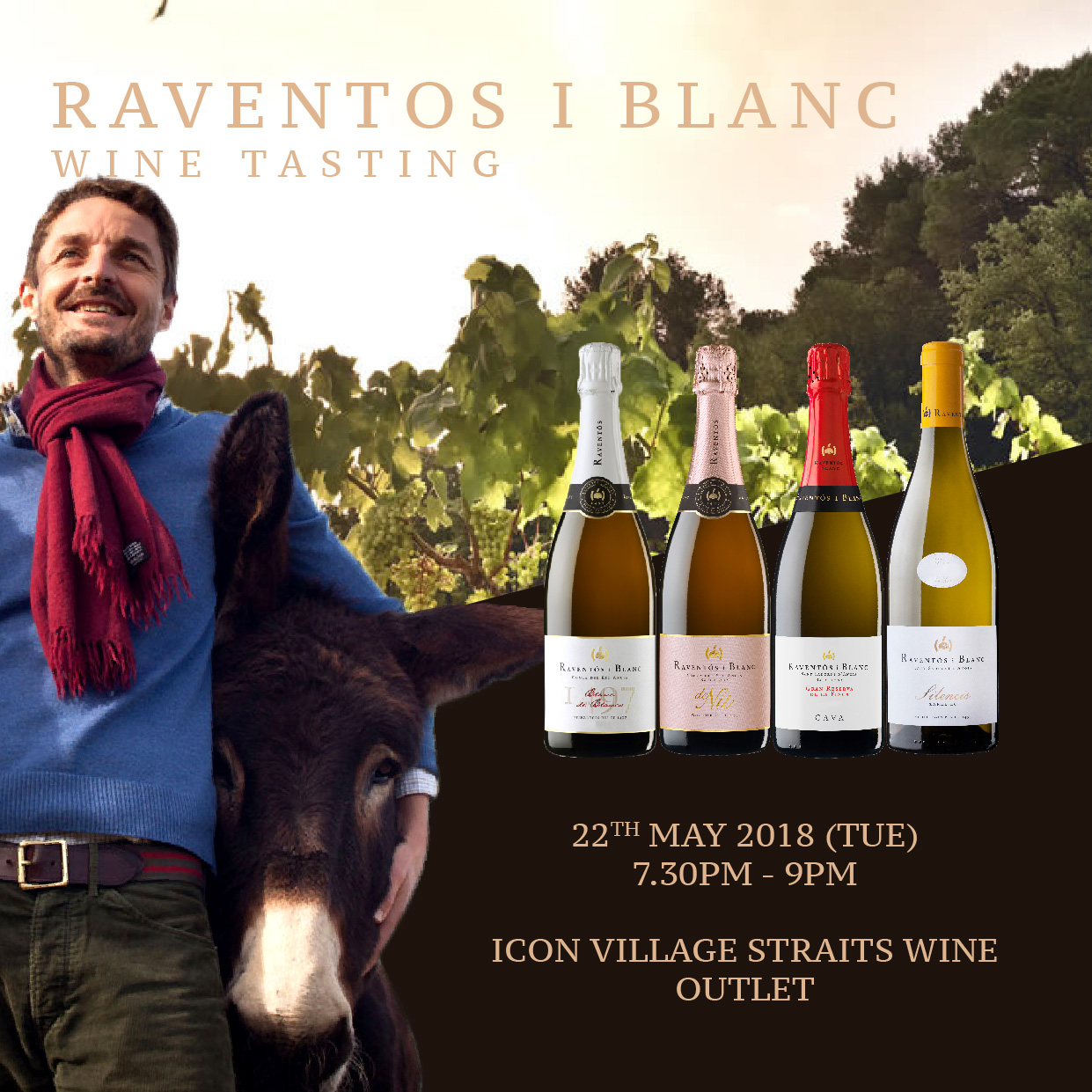 Raventos i Blanc Wine Tasting Event