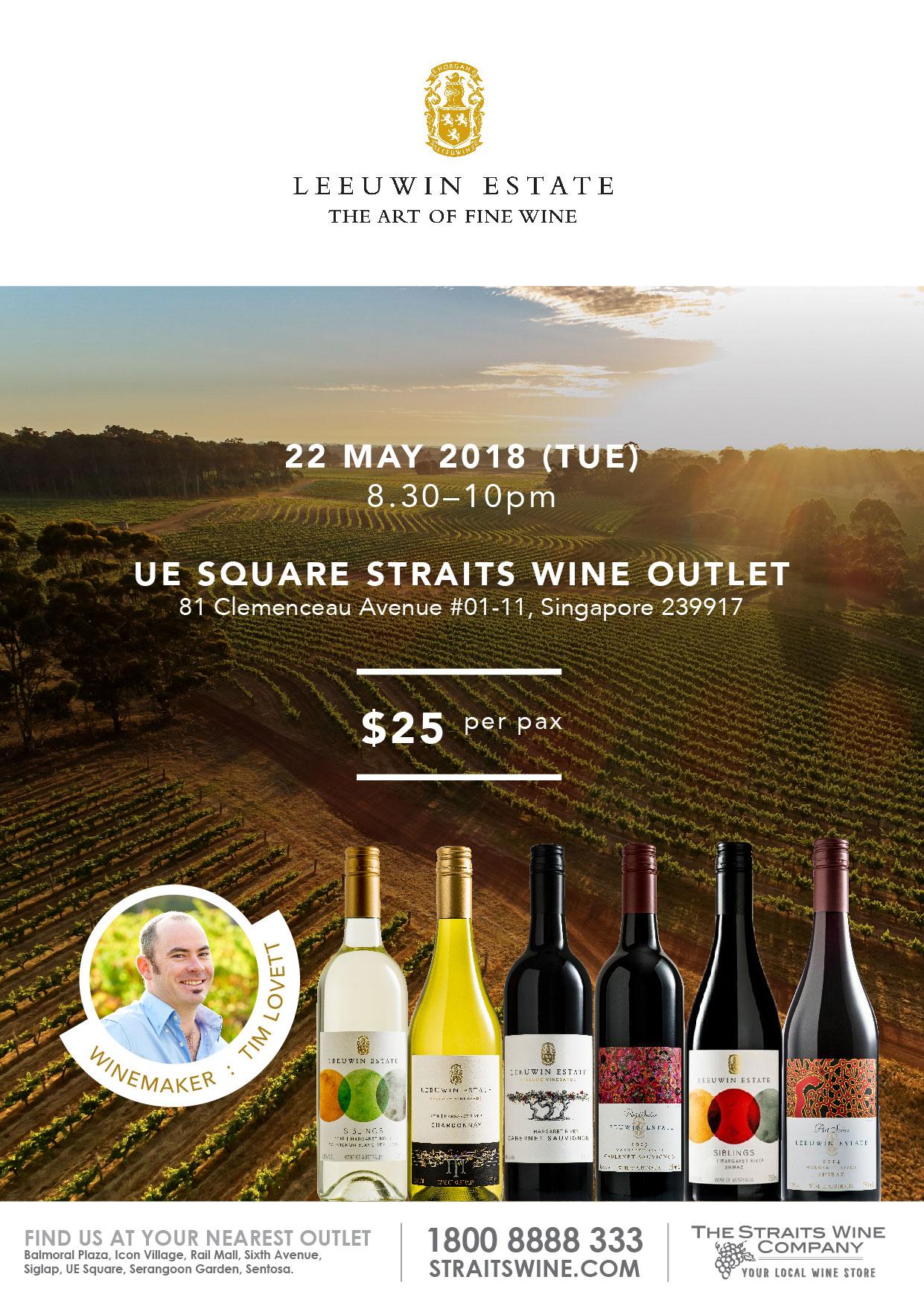 Leeuwin Estate Wine Tasting