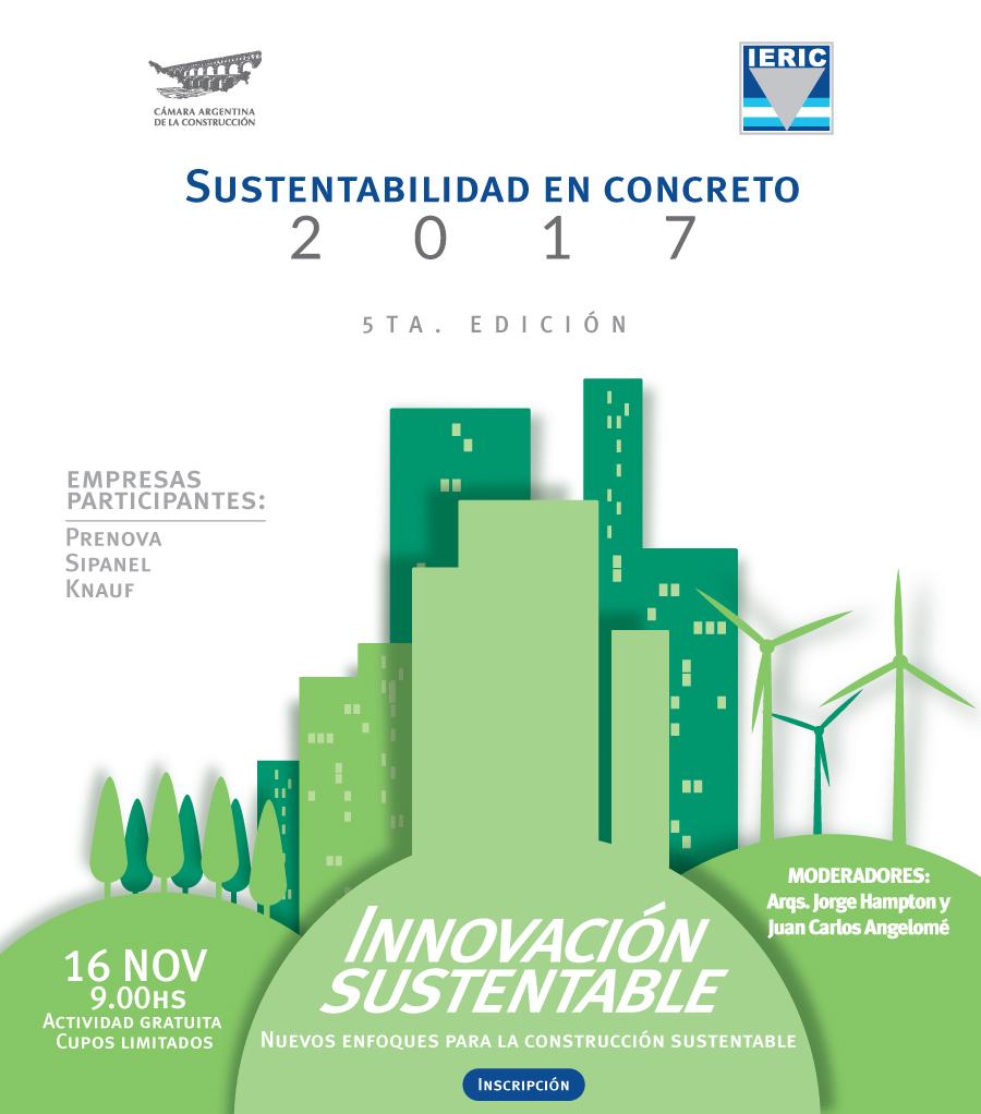 Flyer Sustentabilidad en Concreto 2017