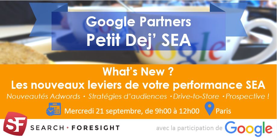evenement SEA google adwords sf