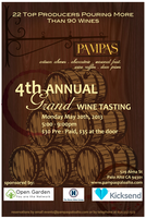 Pampas 4th Annual Grand Wine Tasting!