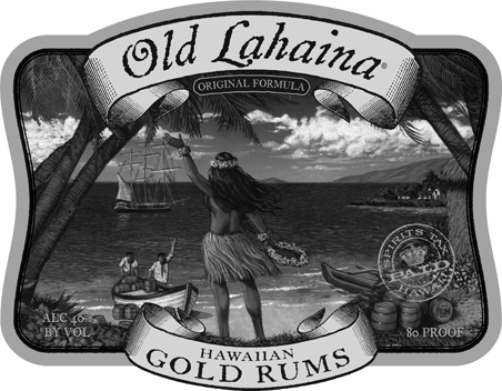 Old Lahaina Rum Logo