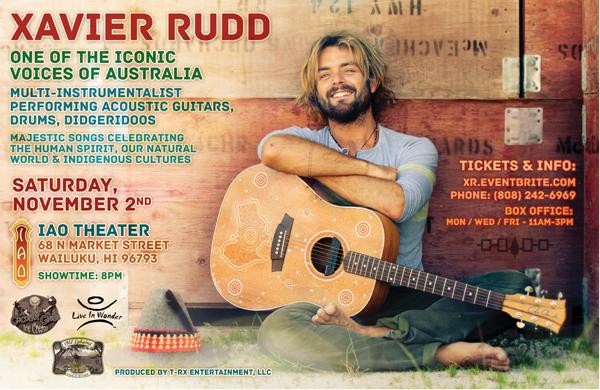 Xavier Rudd - Maui Poster