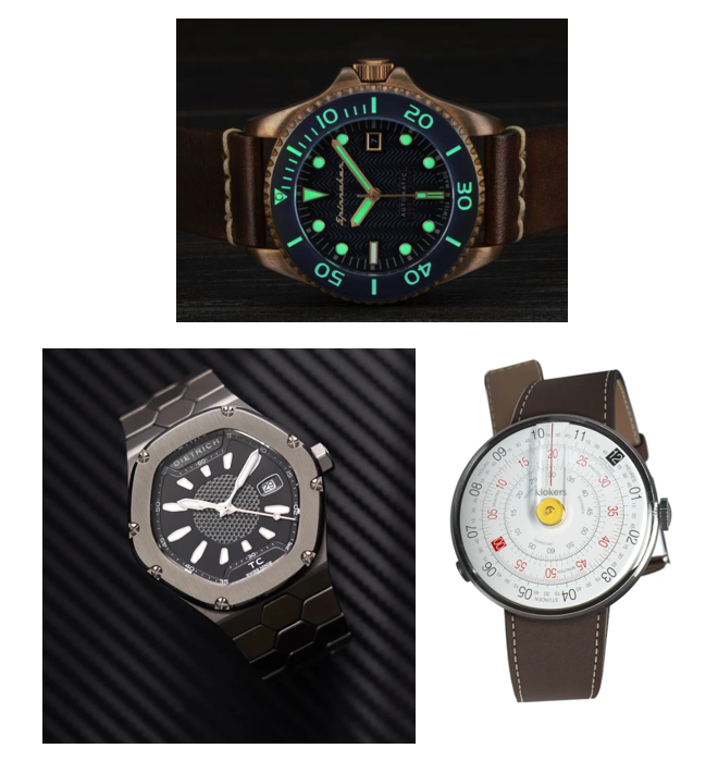 Montage of Watches