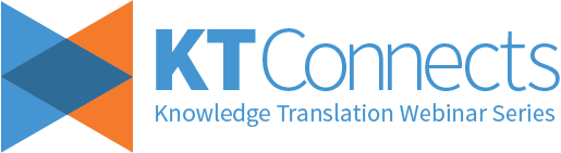 KT Connects: Knowledge translation webinar series