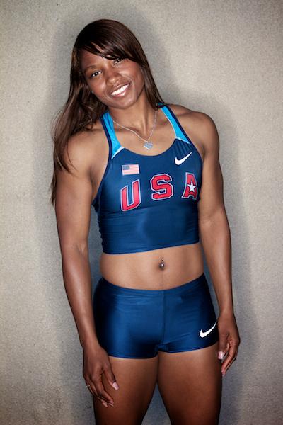 Consuella Moore 2004 Olympian