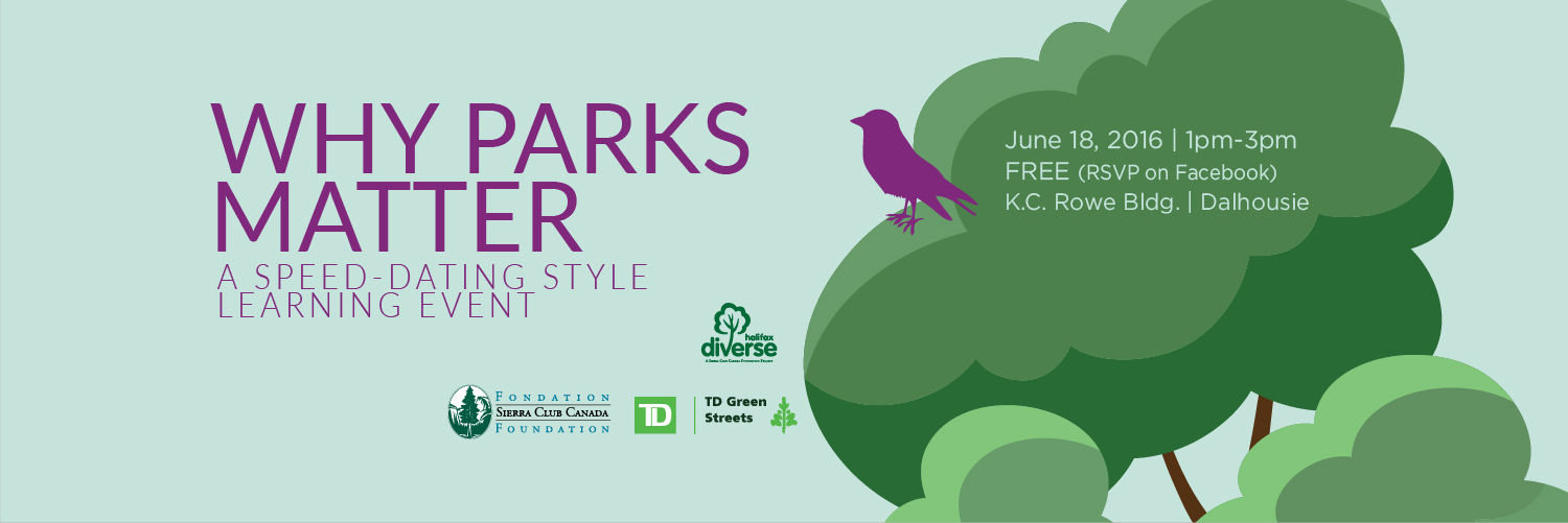 Why Parks Matter event banner