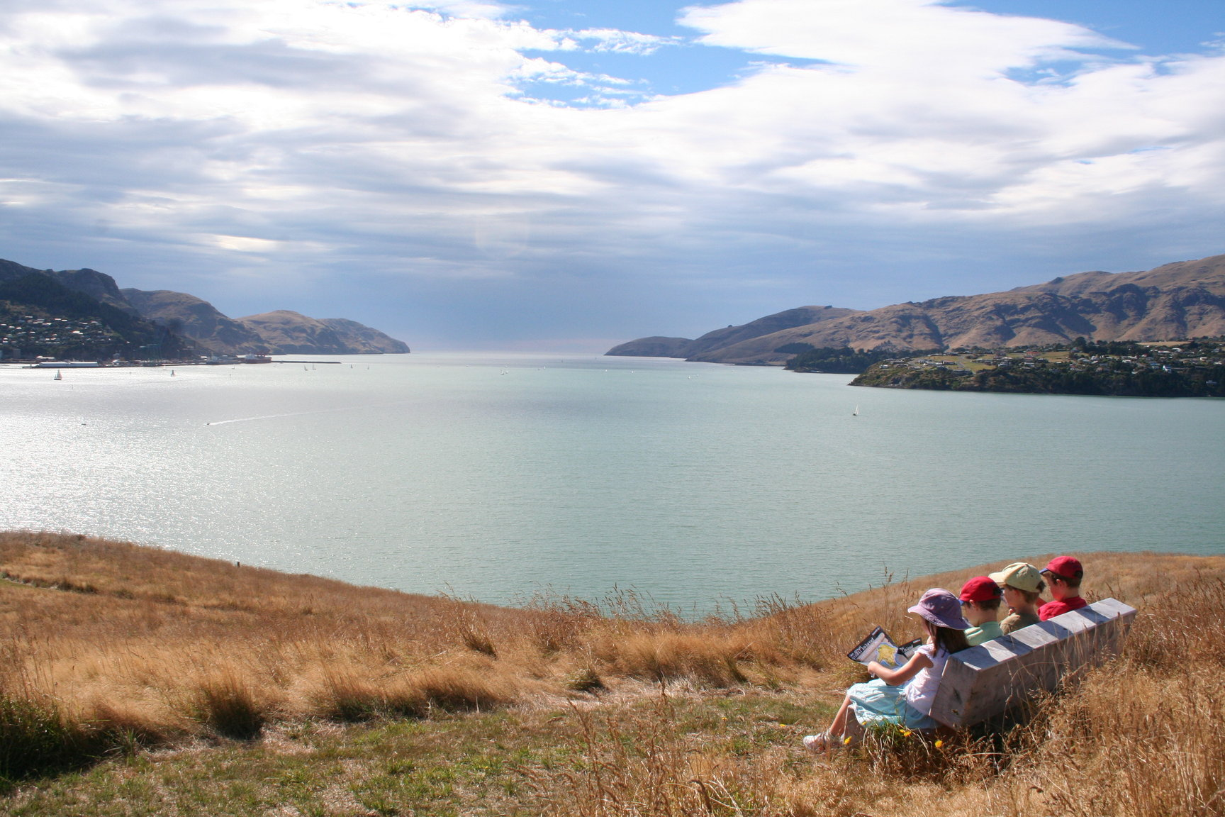 Children on Quail Island