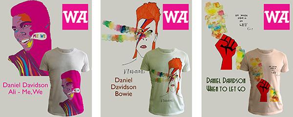 WeAdmire T-Shirts Muhammed Ali David Bowie