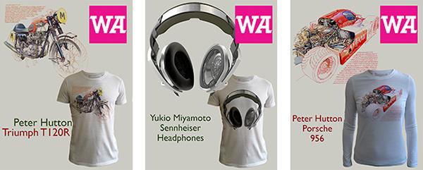 WeAdmire T-Shirts Motorbike Headphones