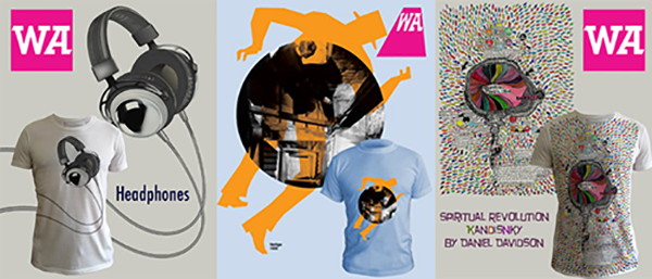 WeAdmire T-Shirts Headphones, Kandinsky, Vertigo. Copyright 2007-2016 WeAdmire.