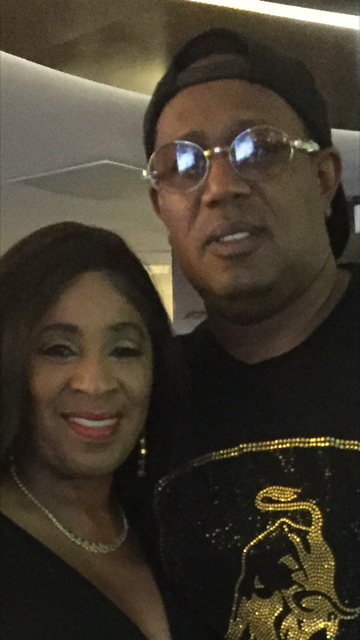 The Westin in Vegas with Master P