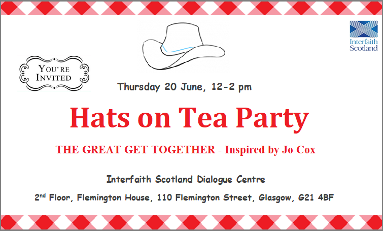 Hats on Tea Party