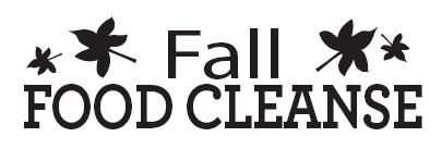 Fall Food Cleanse