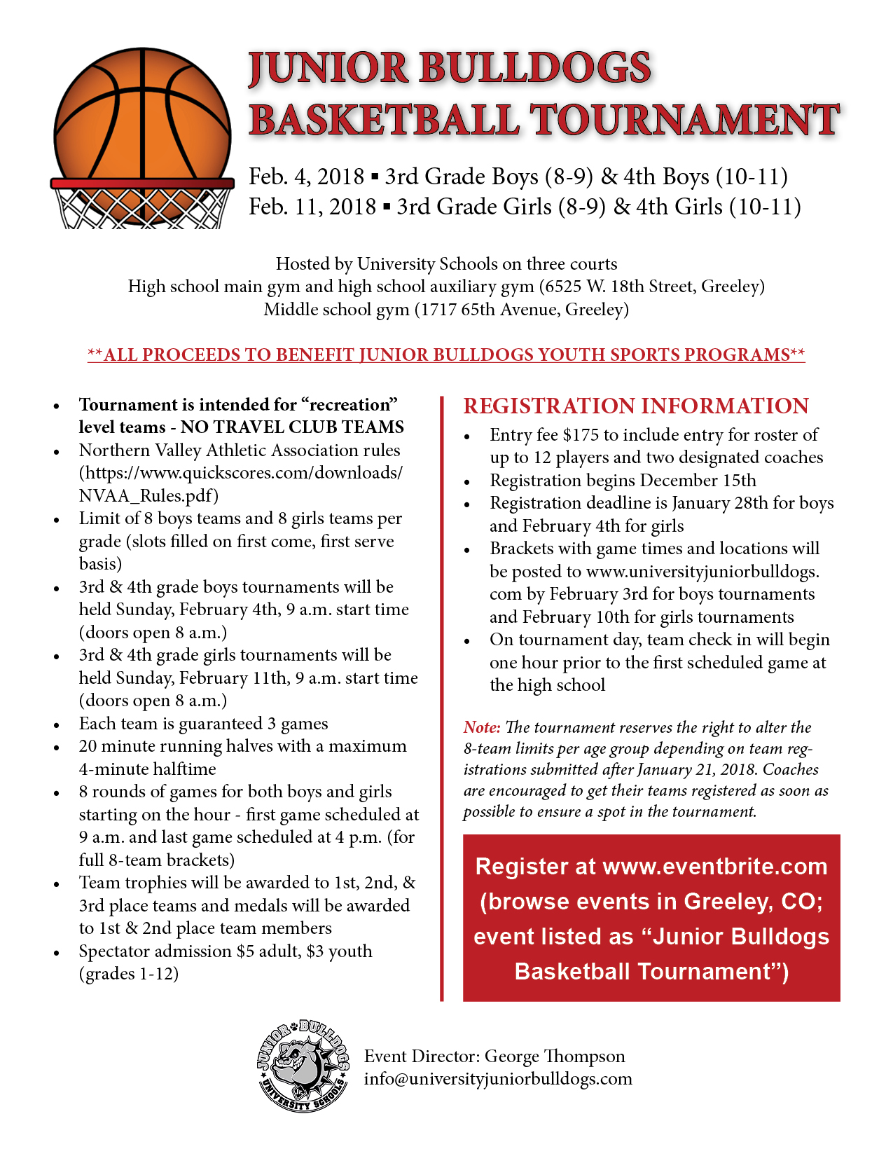 Junior bulldog basketball tournament tickets multiple dates have questions about junior bulldog basketball tournament contact university junior bulldogs stopboris Images