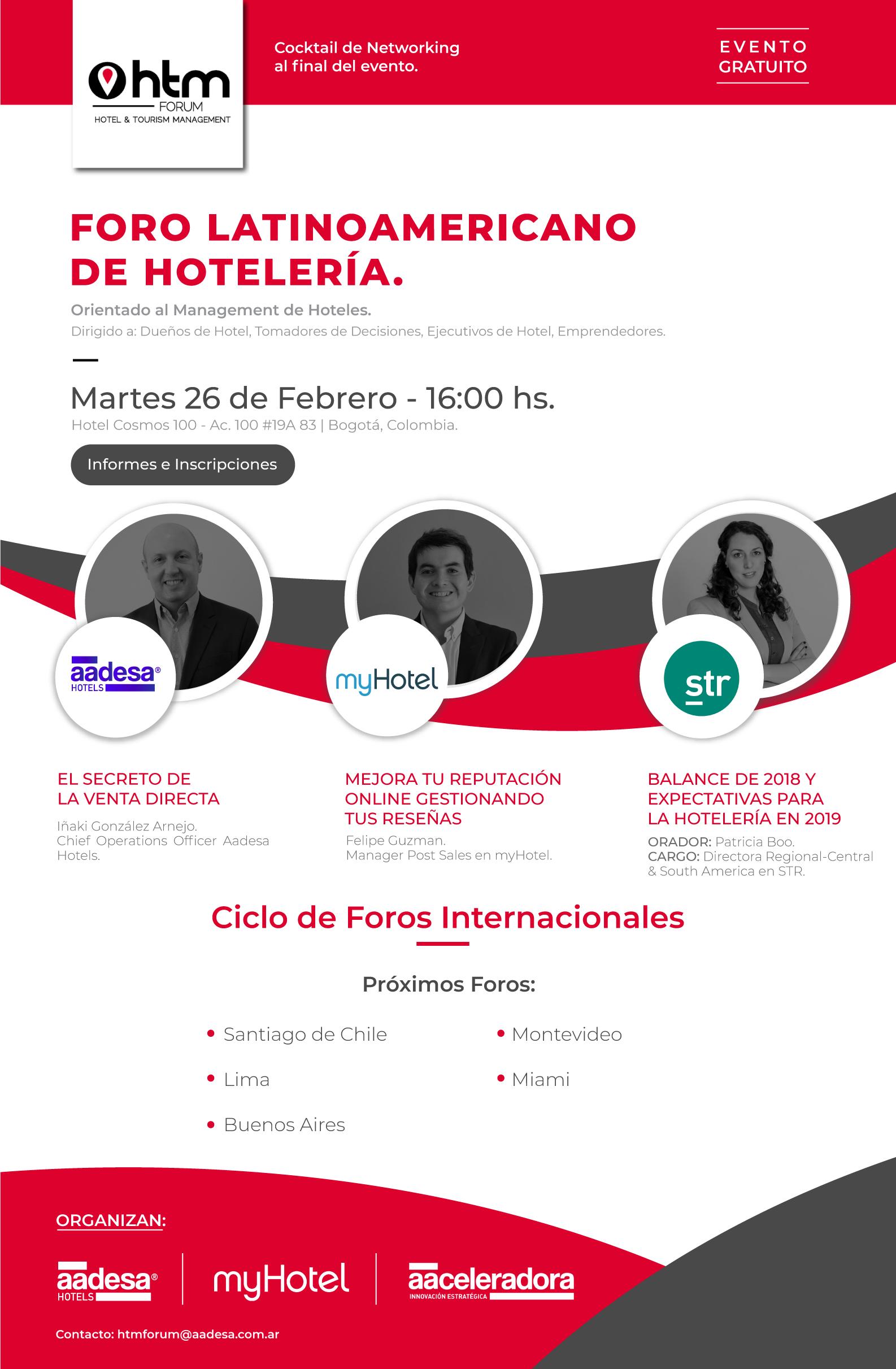 HTM Forum Bogota 2019