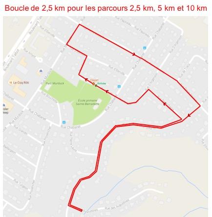 Boucle 2,5 km