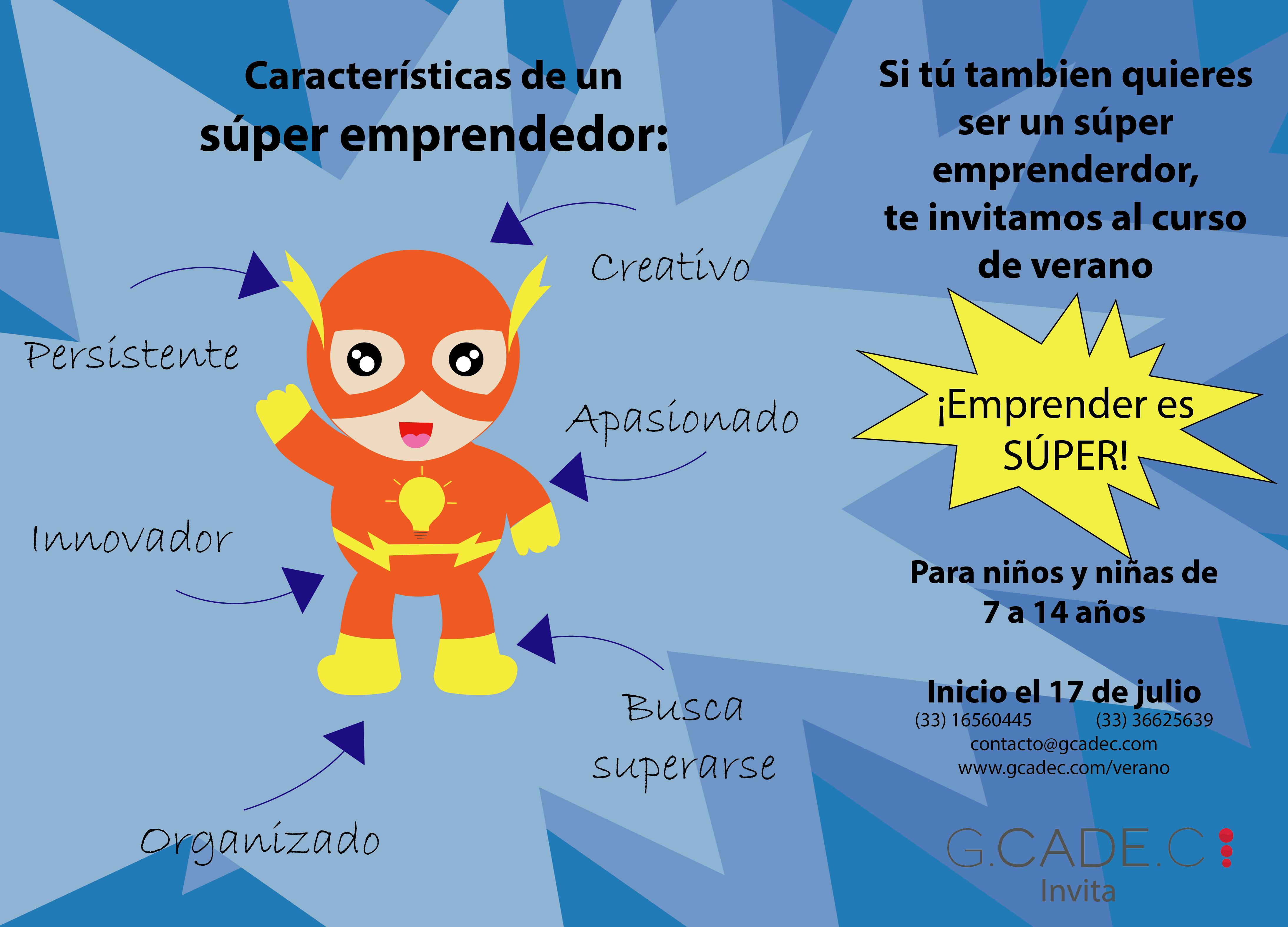 Curso de verano para niños emprendedores