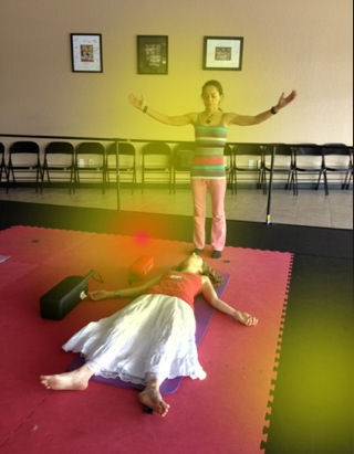 Energy Healing during Breath session