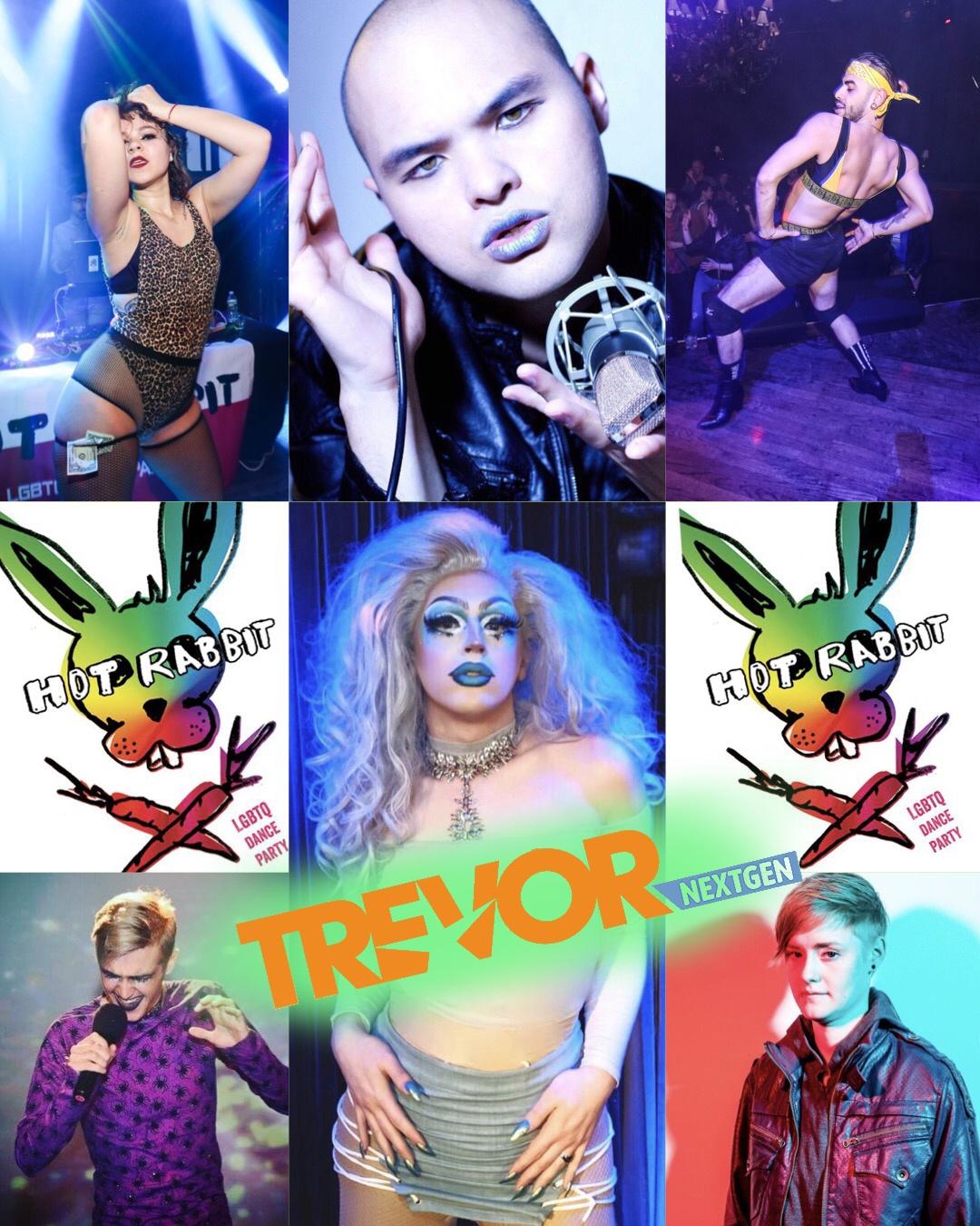 Hot Rabbit Trevor Project Benefit
