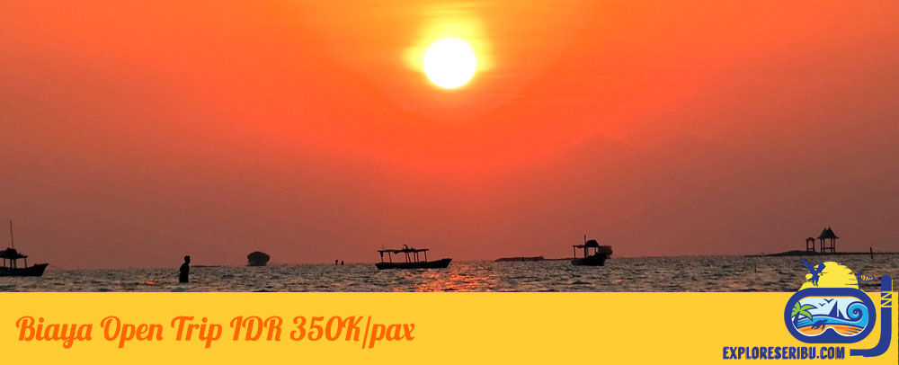 biaya paket wisata open trip pulau tidung