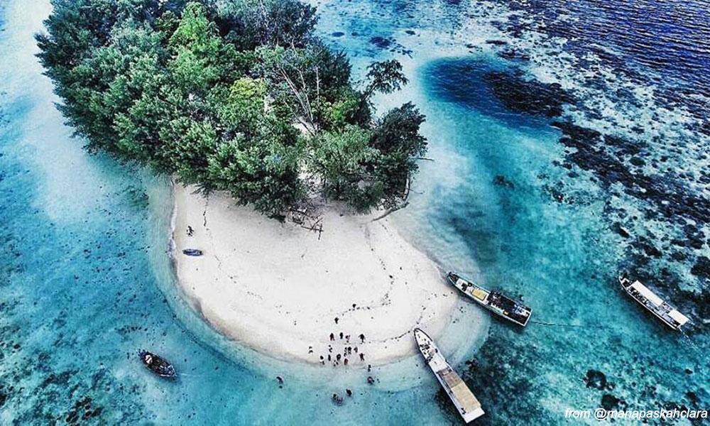 Pulau Dolphin - Pulau Kelapa Kepulauan Seribu Utara dan Paket Wisata Open Trip