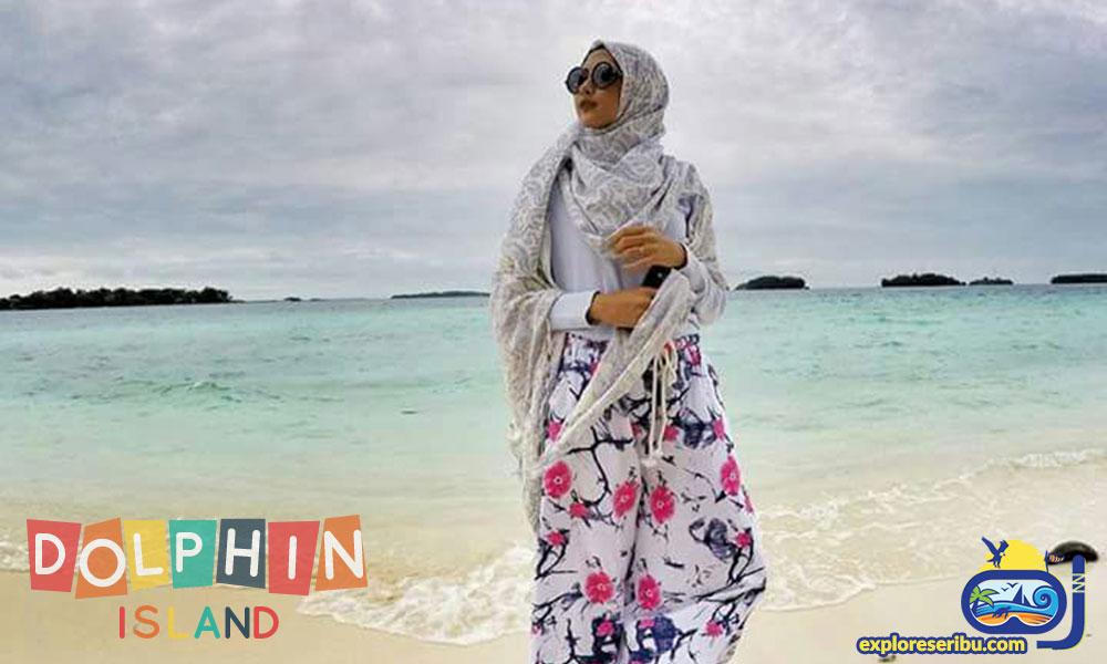 pulau dolphin dan wisata pulau kelapa pulau harapan
