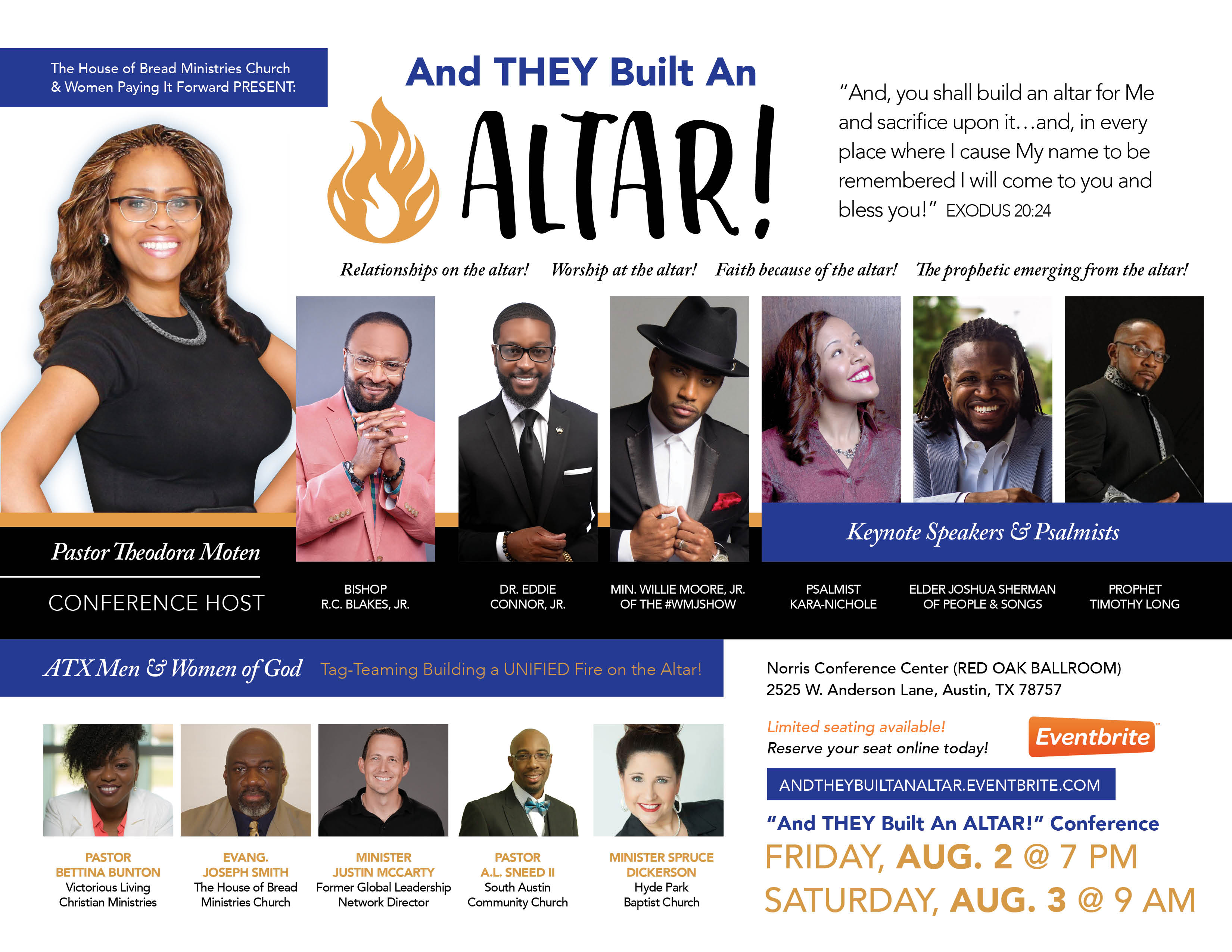 And THEY Built An Altar Conference Flyer-061819