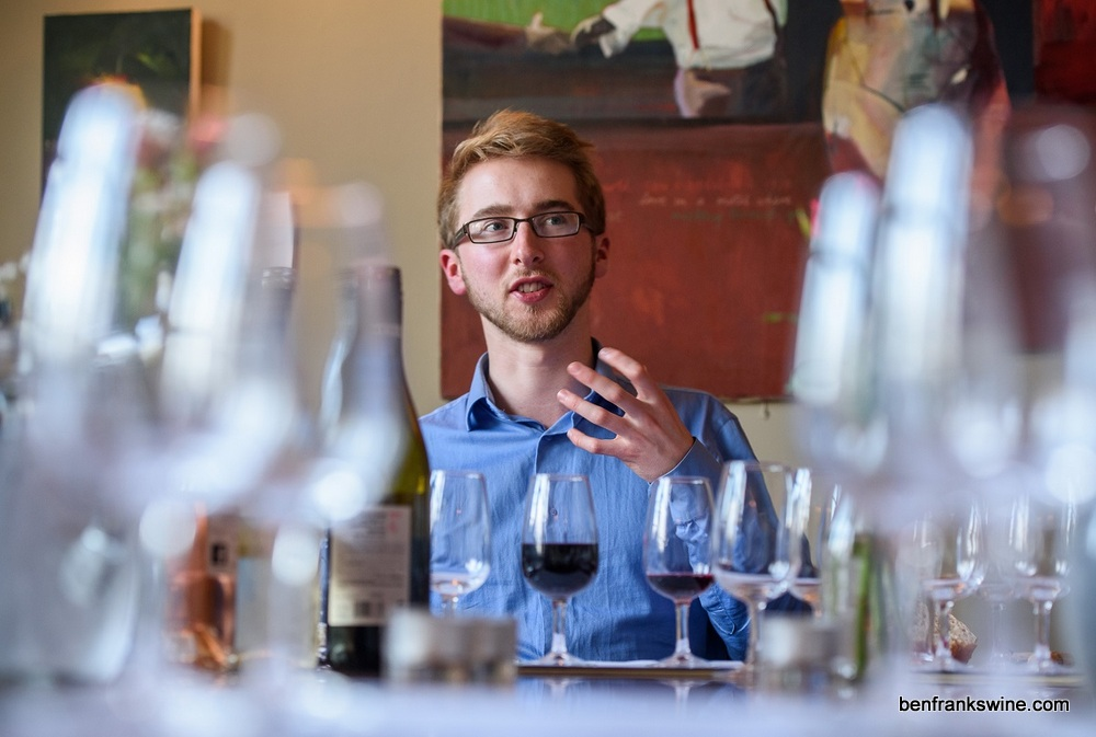 Ben Franks, founder of Novel Wines