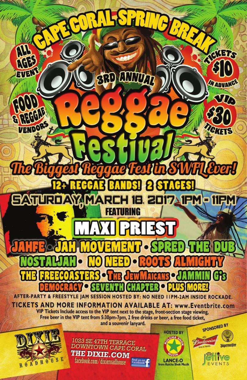 Reggaefest 2017 Poster