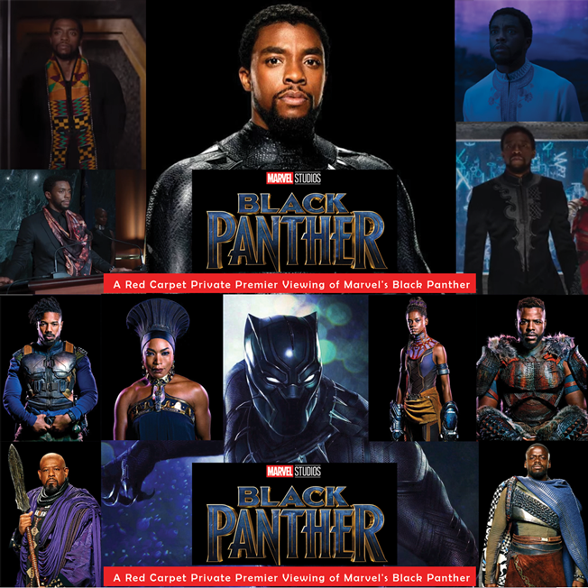 Last Night Was The Black Panther Premiere And It Was: WAKANDA EXPERIENCE: A Private Red Carpet Premiere Of