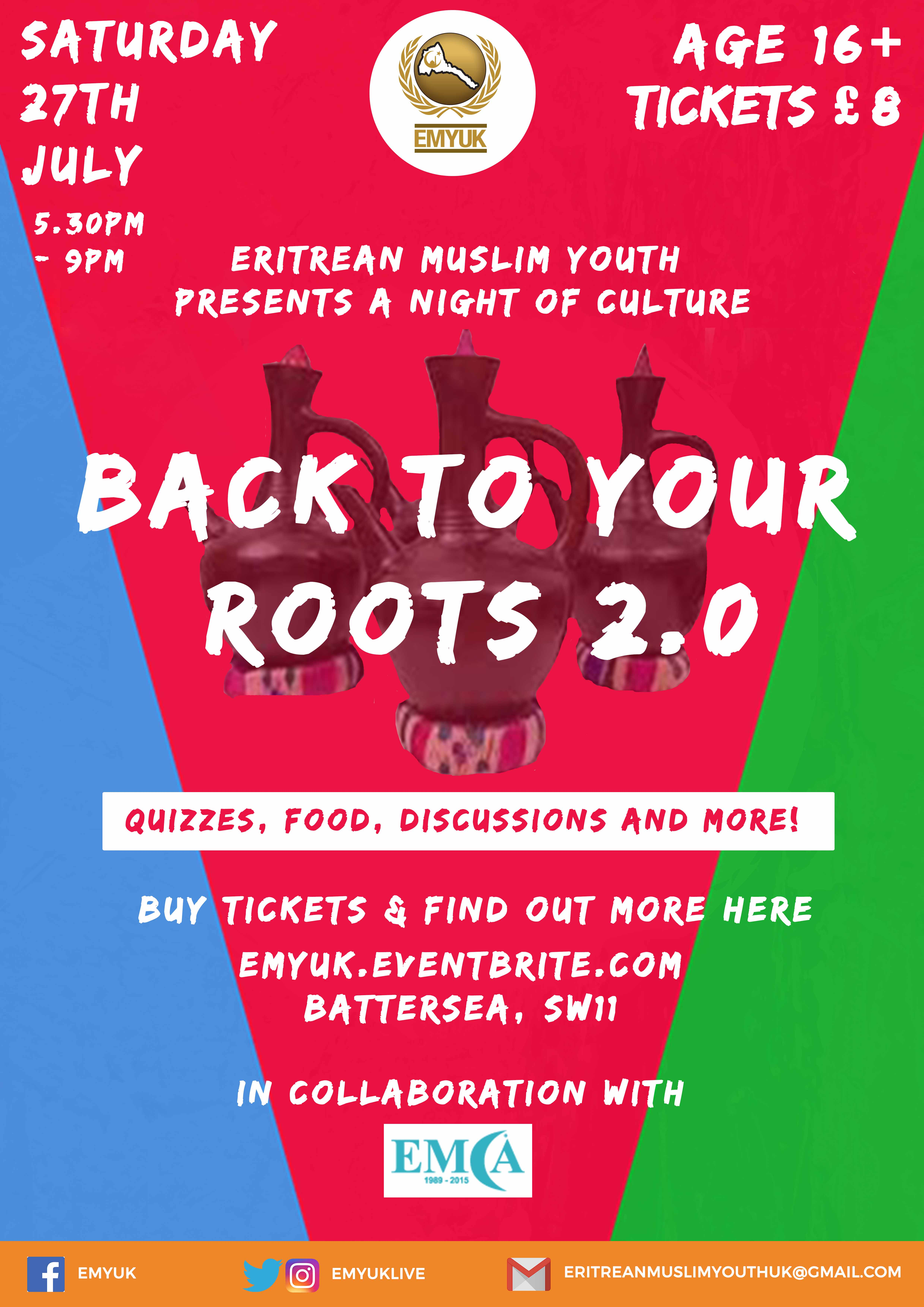 Back to your Roots 2.0 Poster