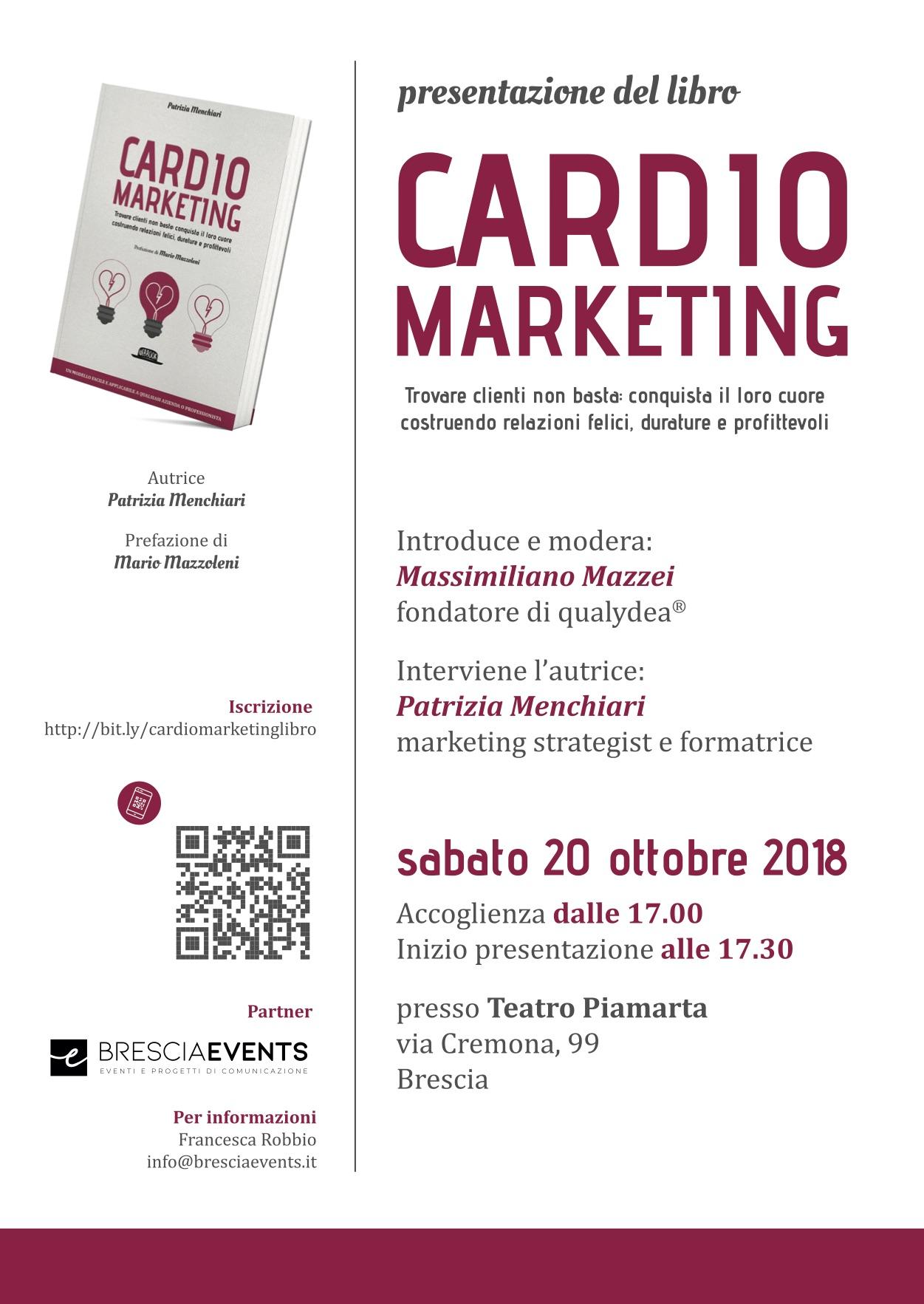 Presentazione libro CardioMarketing 20 ottobre 2018