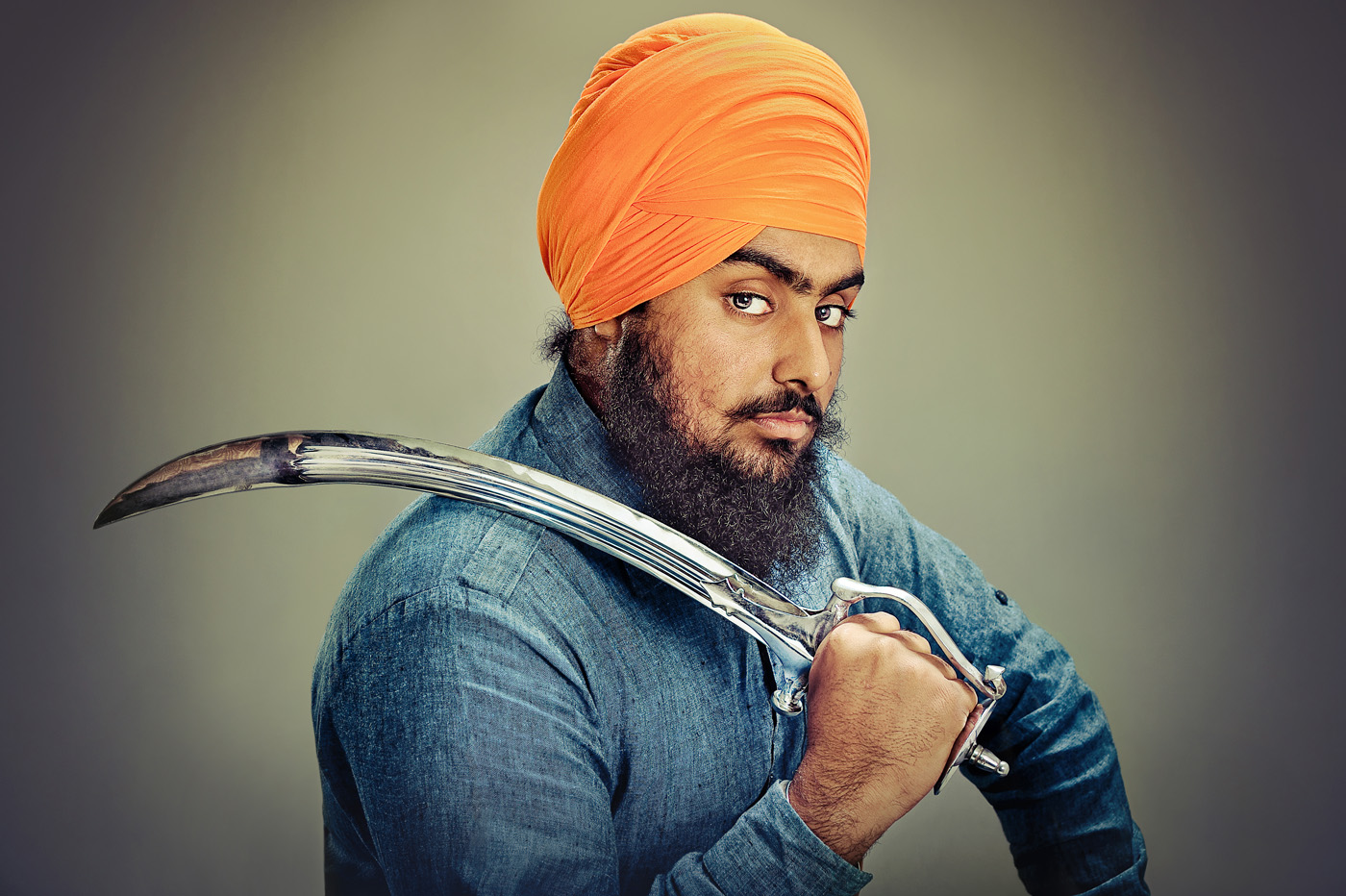 Portrait from The Singh Project