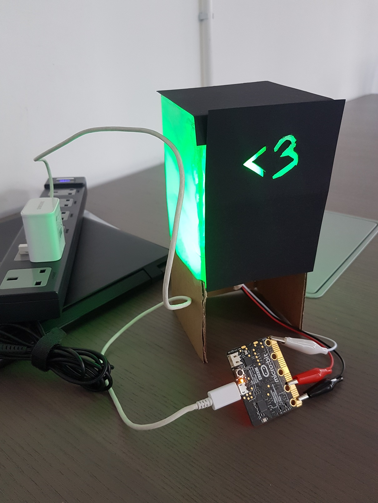 Prototype of Bedside Table Lamp