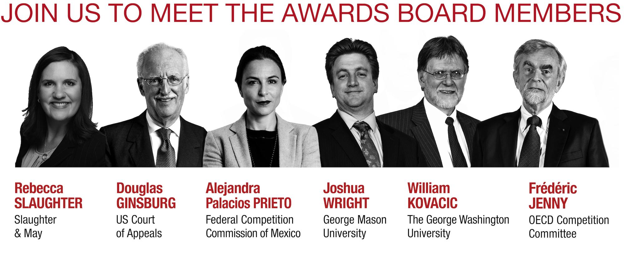 2020 Antitrust Writing Awards Board Members