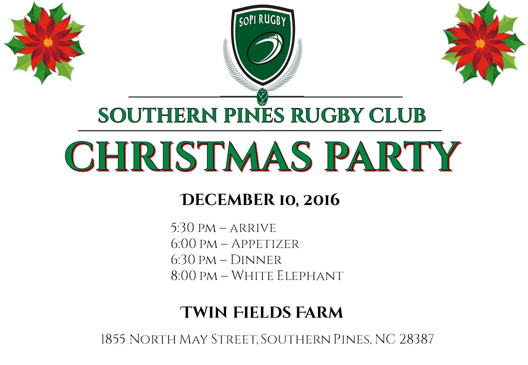 Rugby Christmas Party