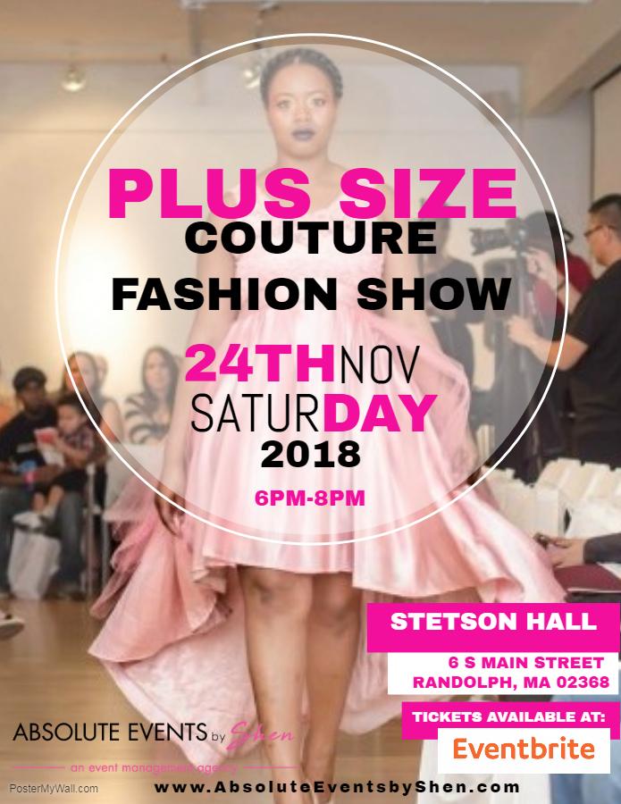 Plus Size Couture Fashion Show
