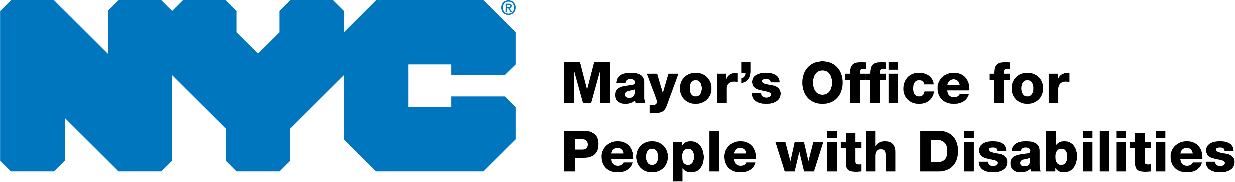 Mayor's Office for People with Disabilities logo