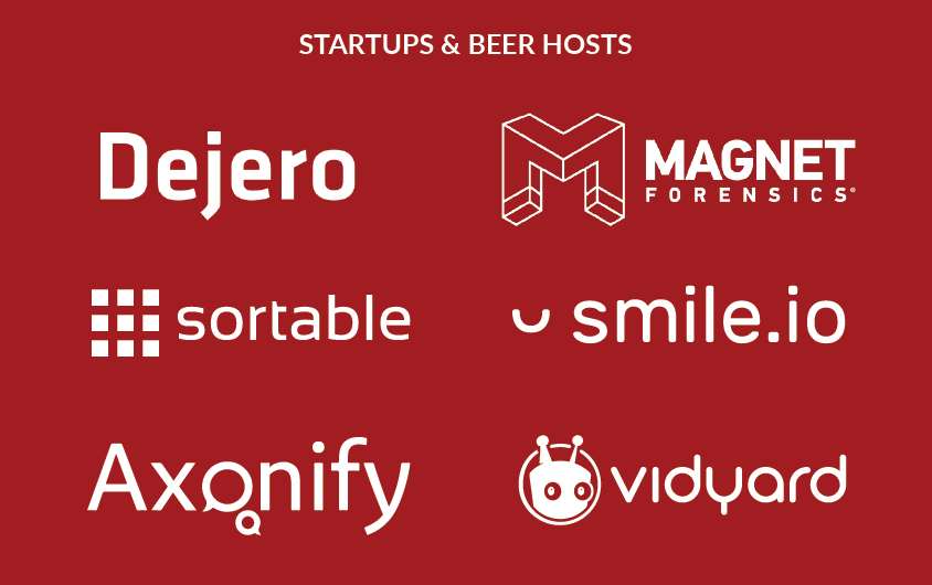 Startups and Beer hosts