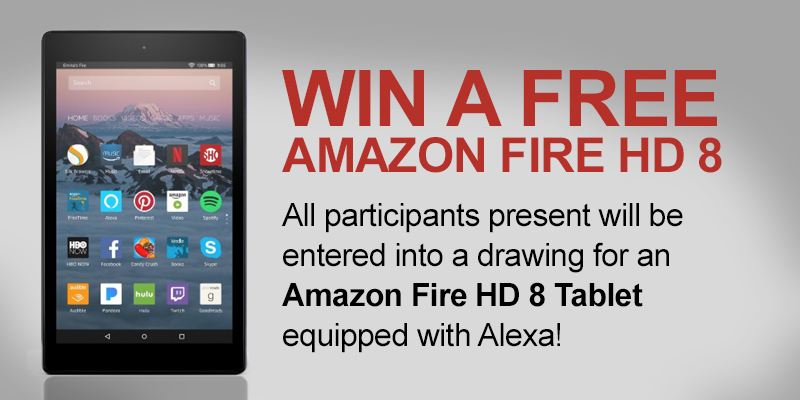 Amazon Fire Giveaway Banner