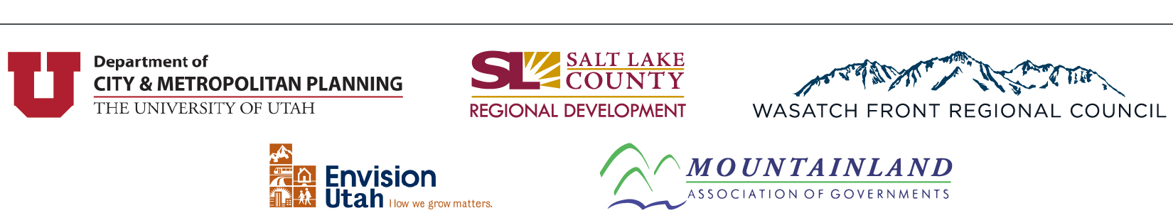 Event organizers' logos.