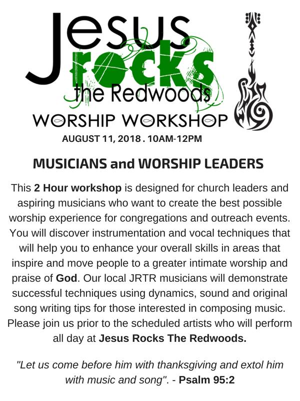 Worship Workshop JRTR