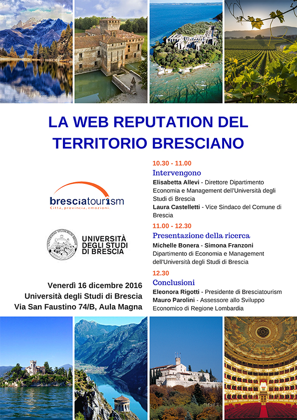 La Web Reputation del territorio bresciano