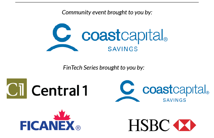 Fintech Event and Fintech Series Sponsor Logos