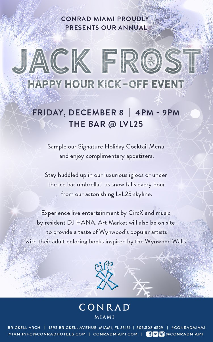 Jack Frost Happy Hour