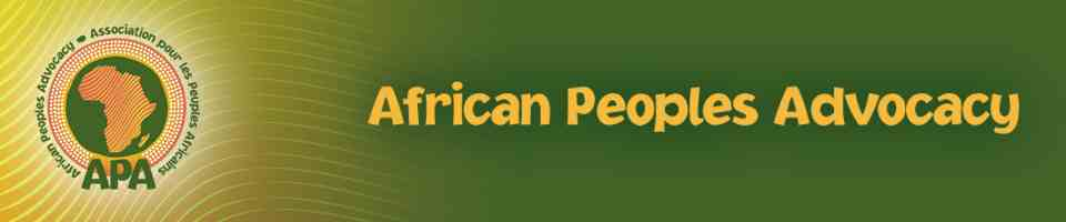 African Peoples Advocacy Logo