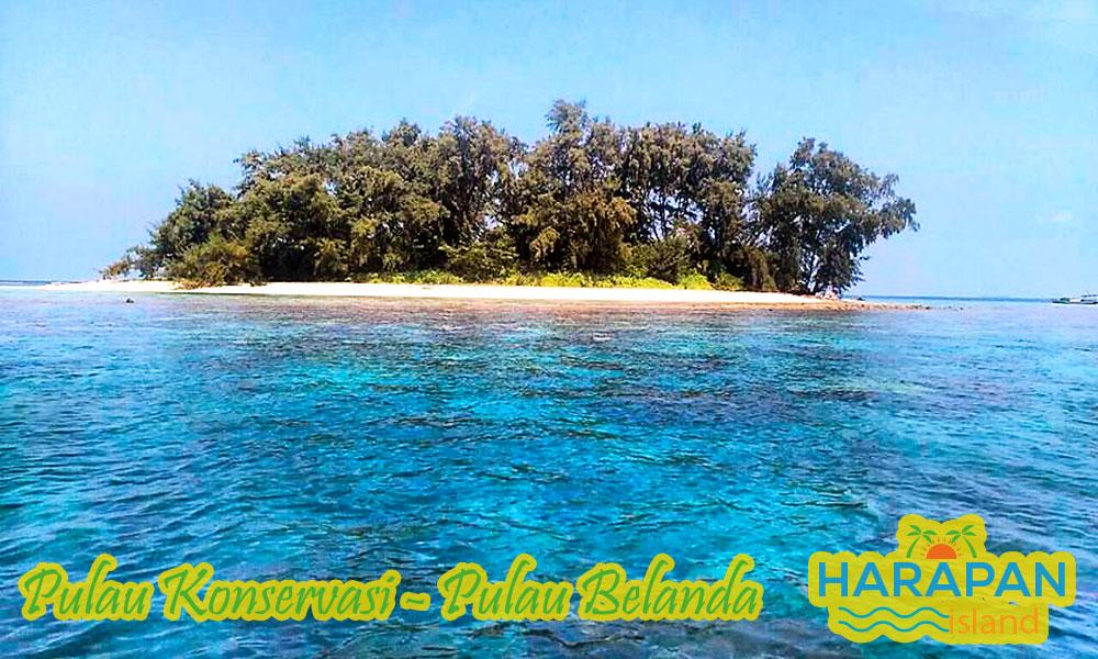 Pulau Belanda di Pulau Harapan Kepulauan Seribu Utara