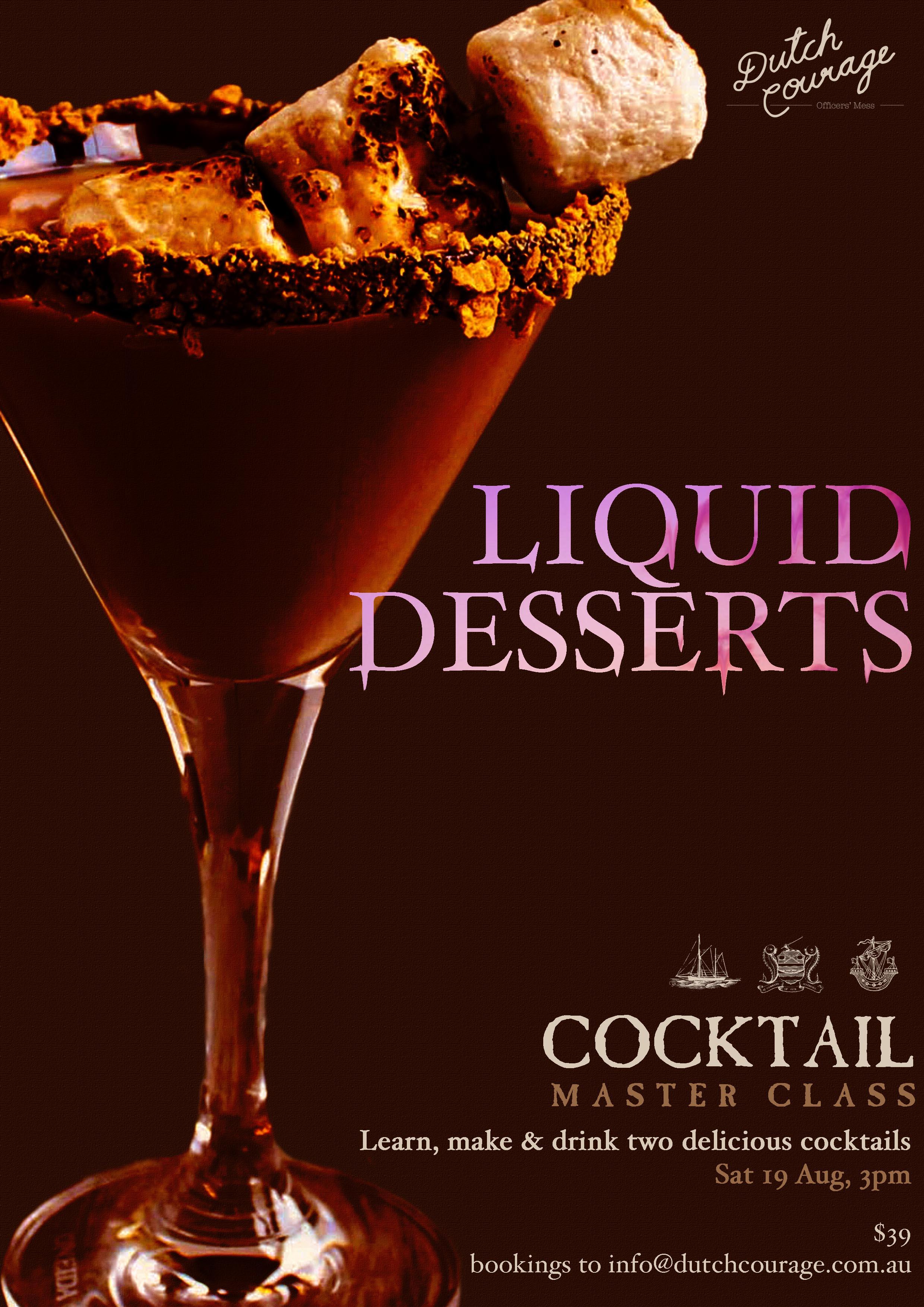 Liquid Desserts